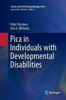 Pica in Individuals with Developmental Disabilities Softcover reprint of the original 1st ed. 2016