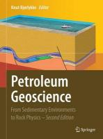 Petroleum Geoscience: From Sedimentary Environments to Rock Physics Softcover reprint of the original 2nd ed. 2015