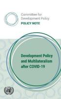 Development Policy and Multilateralism after COVID-19: Committee for Development Policy (CDP) - Policy Note