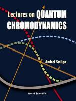 Lectures On Quantum Chromodynamics